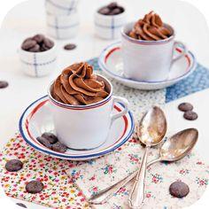 Mousse de chocolate, damasco e um toque de Jack | Vídeos e Receitas de Sobremesas