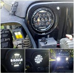 "7"" ROGUE JEEP HEADLIGHT PAIR $199 - Farmer Johnson Off-Road"