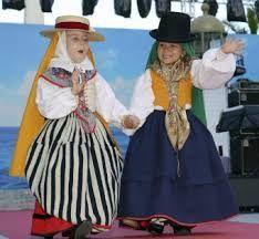 Resultado de imagen de trajes vestimenta tradicional canaria