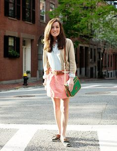 preppy style on the streets