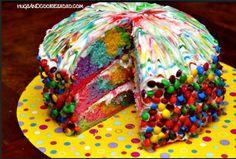Recette pour élucider le mystère des gâteaux multicolores...! Un plaisir pour les papilles, et les yeux! / How to do it yourself and figure out the mystery of the rainbow cakes...! A pleasure for the tastebuds, and for the eyes!