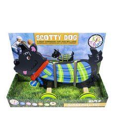 Bead Bazaar Scotty Dog Jumbo Pull Toy