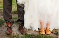 The bride wore mocca