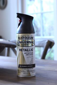 oil rubbed bronze paint! Painted a mixmatched bedroom set with this and people think I got new furniture...looks really nice. Painted hardware hammered silver.
