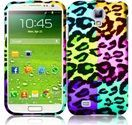 Samsung Galaxy S4 Design Snap On Case - Colorful Leopard $8.99