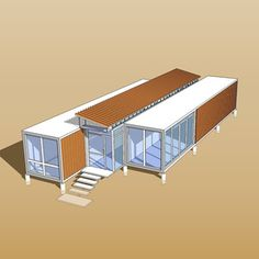 container house Source modular sea container house,customized ocean container house free designs on Sea Containers, Sea Container Homes, Building A Container Home, Container Buildings, Container Architecture, Container Design, Architecture Design, Container Gardening, Gardening Tips