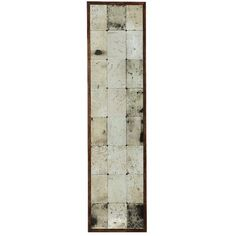 Eichholtz Cervilla Mirror (3,850 CNY) ❤ liked on Polyvore featuring home, home decor, mirrors, brown, brown mirror and window mirror