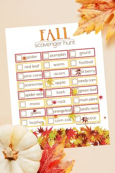 This free printable Fall Scavenger Hunt Printable is super easy for you to use with your kids on a f Autumn Activities For Kids, Indoor Activities, Holiday Activities, Summer Activities, Family Activities, Fall Birthday, Christmas Birthday, 21st Birthday, Kids Christmas