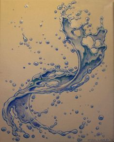 simple water tattoo - Google Search