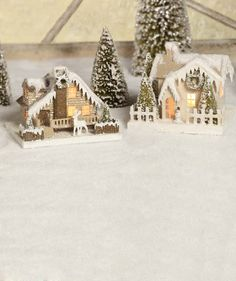 Bethany Lowe Cottages In The Woods - The Holiday Barn