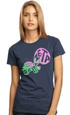 Delta Zeta turtle shirt