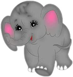 Find more awesome elephant images on PicsArt. Baby Elephant Clipart, Baby Elephant Images, Cute Elephant Cartoon, Cute Baby Elephant, Baby Elephant Nursery, Elephant Art, Baby Cartoon, Cartoon Pics, Cute Cartoon