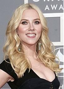 Fabulous Custom Scarlett Johansson Hair Style-Medium Wavy Hand Tied Full Lace100% Human Hair  Wig