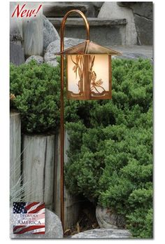 Dragonfly Garden Lantern Curved Arm - LED – Welcome to Yardify