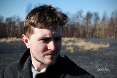 Actor Martin Haddow playing 'The Stranger' on location while shooting the short film 'A Letter From Perdition'.