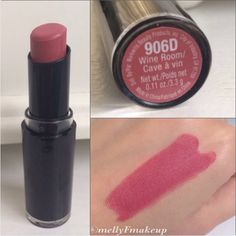 Wet n Wild Mega Last Lipcolor in Wine Room. Lipstick Swatches, Makeup Swatches, Lipstick Colors, Lip Colors, Lipsticks, Nyx Lipstick, Wet N Wild Lipstick, Wet N Wild Beauty, Hard Candy Makeup