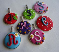 Lollipop Bottle Cap Projects, Biscuit, Washer Necklace, Polymer Clay, Yummy Food, Crafty, Clay Ideas, Christmas Ideas, Jewelry