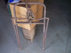 Antique Hay Trolly Harpoon Fork Bale Carrier | eBay
