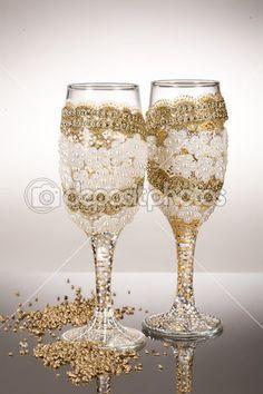 Свадебные очки — стоковое изображение #3212277