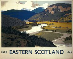 Image of 'eastern scotland: royal deeside', lner/lms poster, by Science & Society Picture Library View and buy rights managed stock photos at Science & Society Picture Library. Skye Scotland, Scotland Travel, British Travel, National Railway Museum, Railway Posters, Airline Travel, Nostalgia, Vintage Travel Posters, Poster Prints