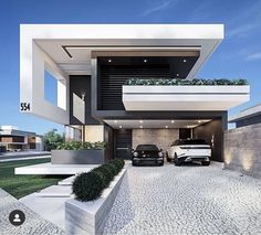 Most 50 Beautiful House Design For 2020 - Engineering Discoveries Modern Small House Design, Modern Villa Design, Duplex House Design, House Front Design, Modern House Plans, Modern Glass House, Home Building Design, Building A House, Modern Architecture House