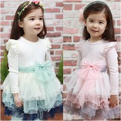 Aliexpress.com : Buy 2014 New Style Girls Autumn Tiered Dresses Baby Kids Cute Dress from Reliable Dresses suppliers on Kids Fashion Clothin...