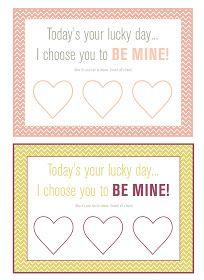 DOING THIS! Valentine's Day Scratch-off Cards
