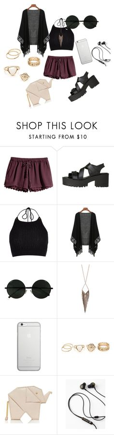 """""""#Kimono"""" by pandadonuttwin ❤ liked on Polyvore featuring H&M, Windsor Smith, River Island, Jules Smith, Native Union and Kate Spade"""