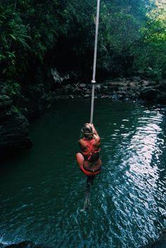 Travel Destinations - The Travel Ideas Summer Goals, Summer Fun, Summer Bucket, Adventure Awaits, Adventure Travel, Beach Swing, Rope Swing, Photos Voyages, Wanderlust Travel