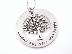 The Giving Tree necklace