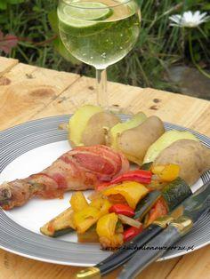 Pałki z kurczaka w boczku – czyli domowy obiad