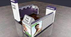 wam tradeshow   LinkedIn Kiosk Design, Trade Show