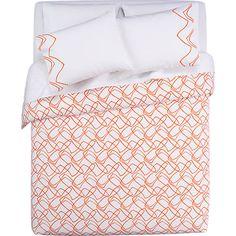 crazy talk bed linens in bed linens | CB2