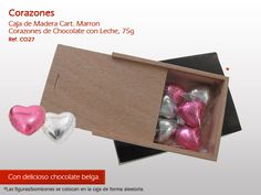 Corazones apetecible con el mejor y más intenso del chocolate Belga! http://www.mysweets4u.com/es/?o=2,5,44,45,0,0