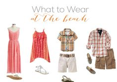 What To Wear? A Sample Guide to Choosing Clothing for Engagement & Family Portraits: Rhode Island Portrait Photographer Family Portraits What To Wear, Family Portrait Outfits, Family Beach Portraits, Family Beach Pictures, Family Photos, Beach Picture Outfits, Family Picture Outfits, Family Photo Sessions, Photo Colour