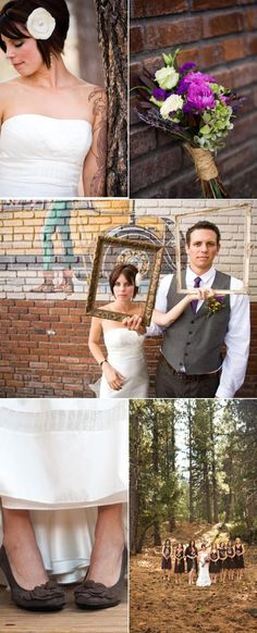 Eco Chic Lake Tahoe Wedding by We Heart Photography | The Wedding Story