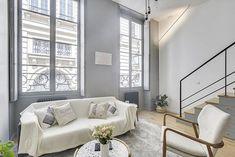 Un petit appartement rénové dans le Marais