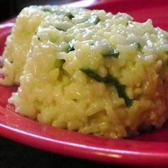 Cheesy Poblano Rice Recipe