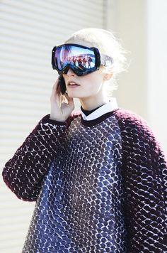 lunettes / visière / militaire / technologie