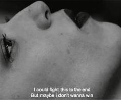 I could fight