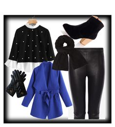 """""""Winter Cool"""" by nadsshoes ❤ liked on Polyvore featuring Alexander McQueen, John Lewis and Gucci"""