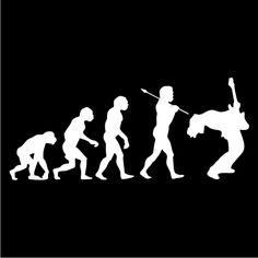 Guitarist Evolution