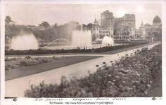 Praça Paris - Rio de Janeiro Antigo / Séculos XIX e XX.