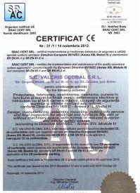 Certificat SRAC modulul H