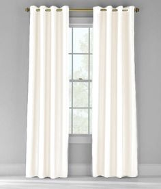 Lush Decor Bright Morning Window Curtains White Set Of 2 Want To Know More Click On The Image This Is An Affiliate Link And I Receive A Co