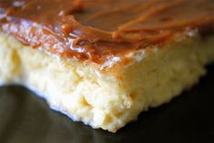 Made this a few times, it's decadent, and delicious!  Even great without the Dulce de Leche topping!