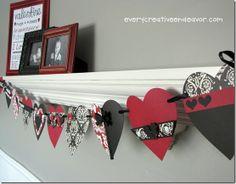 Cute Valentine Banner. Valentines Days Ideas #Valentines, #pinsland, https://apps.facebook.com/yangutu