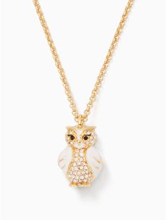 star bright owl mini pendant | Kate Spade New York