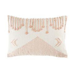 Cuscino intessuto in cotone a motivi grafici, 35x50 | Maisons du Monde