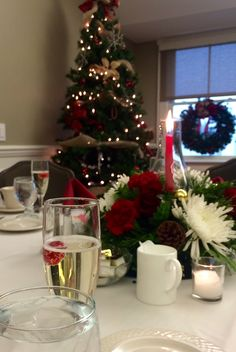 Holiday Party at #manchestercountryclub #christmasparty